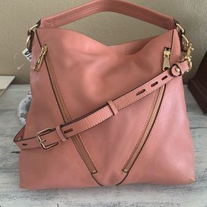 Rebecca Minkoff pink leather bag